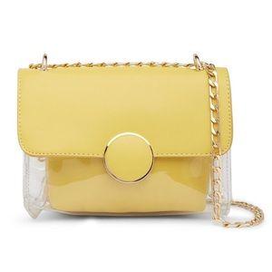 ⭐️NWT⭐️ Pink Haley Retro clear bag